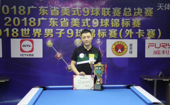 Xue Recaptures GuangDong 9-Ball League Title